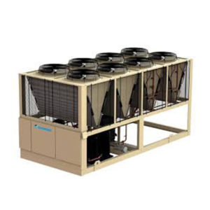Air cooled HVAC chiller